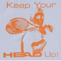 Koszulka HEAD UP Cotton White